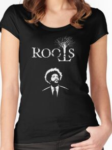 The Roots - Questlove Women's Fitted Scoop T-Shirt