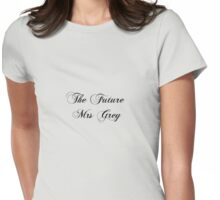 The Future Mrs Grey Womens Fitted T-Shirt