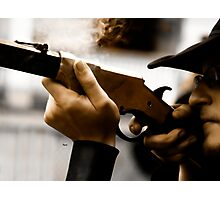 The Shooter  Photographic Print
