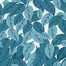 Blue Leaves by elangkarosingo