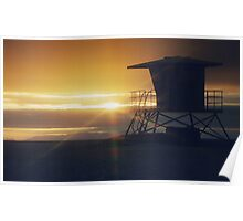 Californian sunset Poster