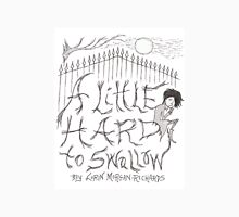 Cover illustration from A Little Hard to Swallow: 1334 Mens V-Neck T-Shirt