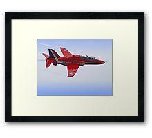 Red Arrows Singleton - Farnborough Framed Print