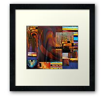 Party of Six... Framed Print