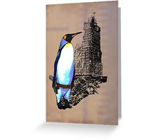 penguins win in the end Greeting Card