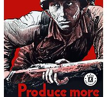 Produce More Milk For Him -- WWII by warishellstore