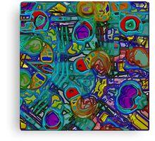 Organized Chaos Canvas Print