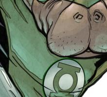 Green Lantern Manatee Sticker