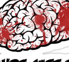 Juicy Brains Sticker
