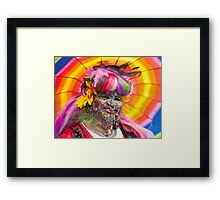 Colourful Character Framed Print