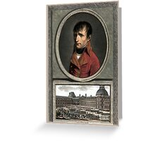 Napoleon Bonaparte -- Troop Review Greeting Card