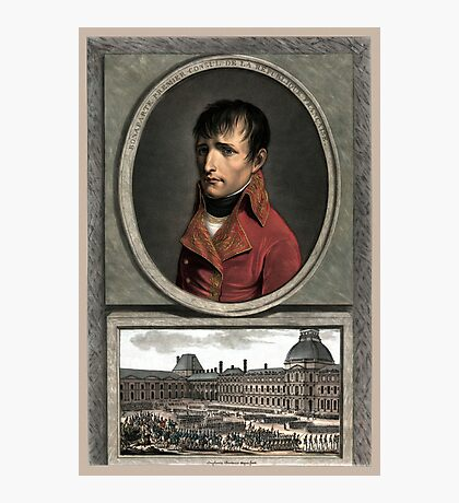 Napoleon Bonaparte -- Troop Review Photographic Print