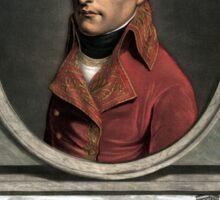 Napoleon Bonaparte -- Troop Review Sticker