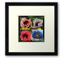Giant Poppies  Framed Print