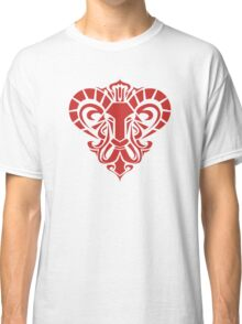 Zodiac Sign Aries Red Classic T-Shirt