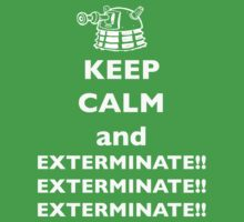 Keep Calm and Exterminate One Piece - Short Sleeve