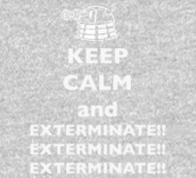 Keep Calm and Exterminate Kids Clothes