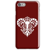 Zodiac Sign Aries White iPhone Case/Skin