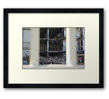 Fall of an empire Framed Print