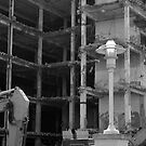 Demolition in Black and white by jclegge