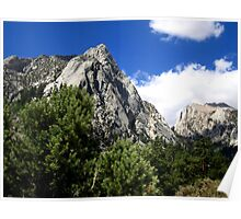 Sierras Mountains of Age Poster