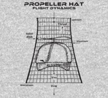 Propeller Hat Flight Dynamics T-Shirt