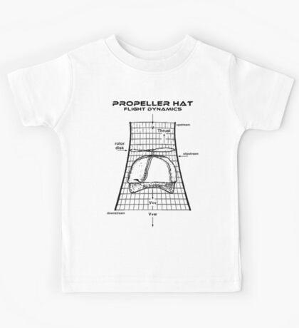 Propeller Hat Flight Dynamics Kids Tee