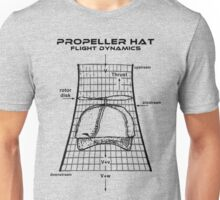 Propeller Hat Flight Dynamics Unisex T-Shirt