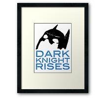 Dark Knight Rises Framed Print