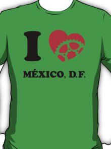 I Ride Mexico, DF T-Shirt
