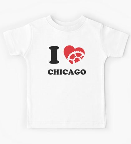 I Ride Chicago Kids Tee