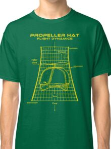Propeller Hat Flight Dynamics Classic T-Shirt