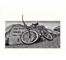 Missing Rider Art Print
