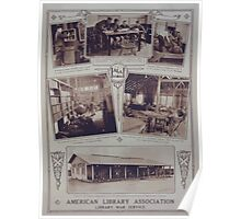 American Library Association Library War Service1 002 Poster