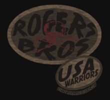 rogers bros warriors skull by ian rogers by usawarriors