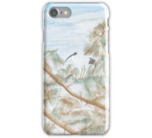 Ibis in a tree. iPhone Case/Skin