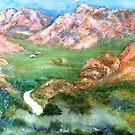 Green valley of the Klein Karoo by Elizabeth Kendall