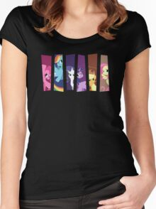My Little Pony: Choose Your Hero 2 Women's Fitted Scoop T-Shirt