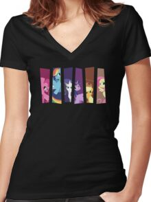 My Little Pony: Choose Your Hero 2 Women's Fitted V-Neck T-Shirt