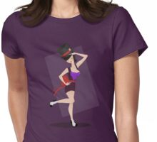 Pin-up: Dr. Facilier Womens Fitted T-Shirt