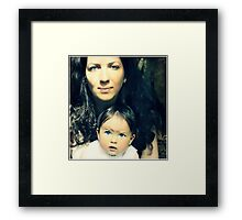 Rhonda & Willow Framed Print