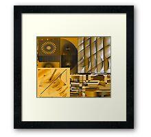 Energizing Collage Framed Print