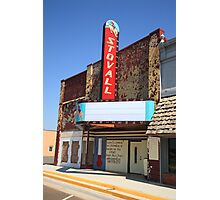 Route 66 - Stovall Theater Photographic Print