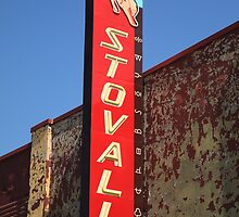 Route 66 - Stovall Theater by Frank Romeo