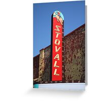 Route 66 - Stovall Theater Greeting Card