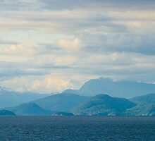 Coast along the Inside Passage, BC Canada, 2012. by johnrf
