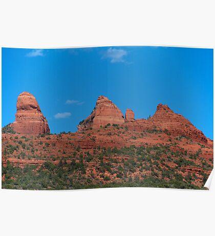 Sedona Red Rock Poster