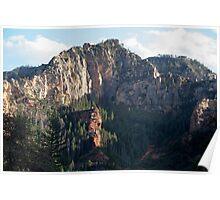 Sedona Mountains Poster
