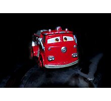 Red the fire truck Photographic Print