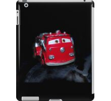 Red the fire truck iPad Case/Skin